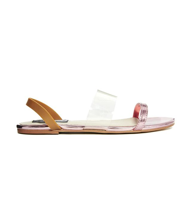 Cheap Monday Saviour Sling Back Flat Sandals