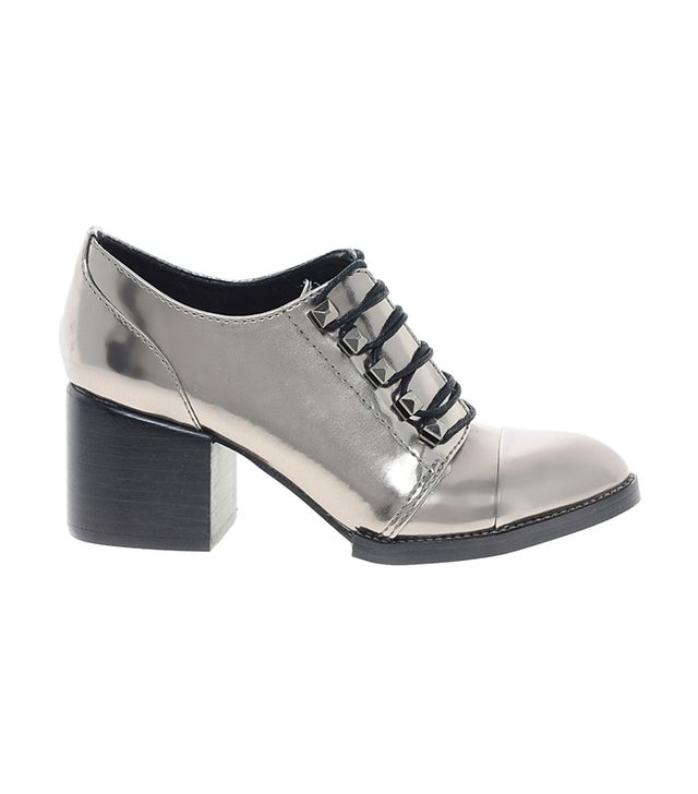 Kelsi Dagger Bandit Mirror Metallic Brogue Shoes