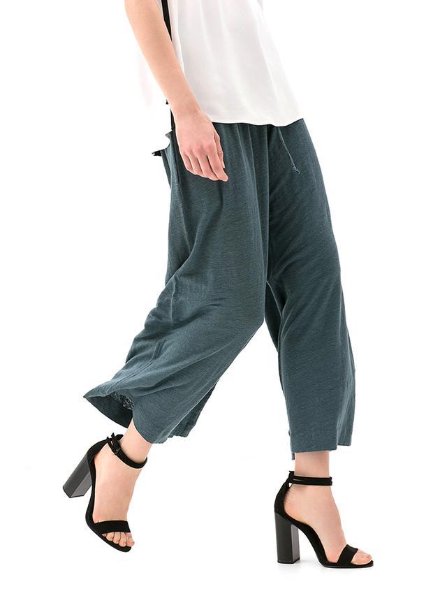 Zara Wide-Leg Linen Trousers