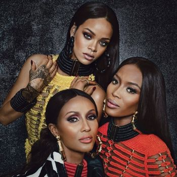 Naomi Campbell, Rihanna And Iman For W Magazine
