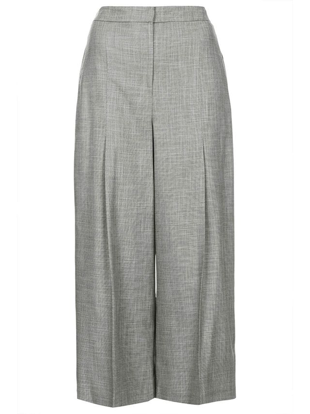 Topshop Tonic Crop Wide-Leg Trousers