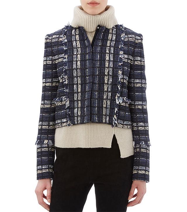 Proenza Schouler Check-Pattern Tweed Jacket