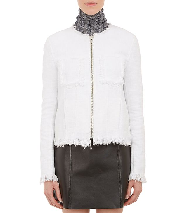 T By Alexander Wang Cut-Off Jeans Jacket