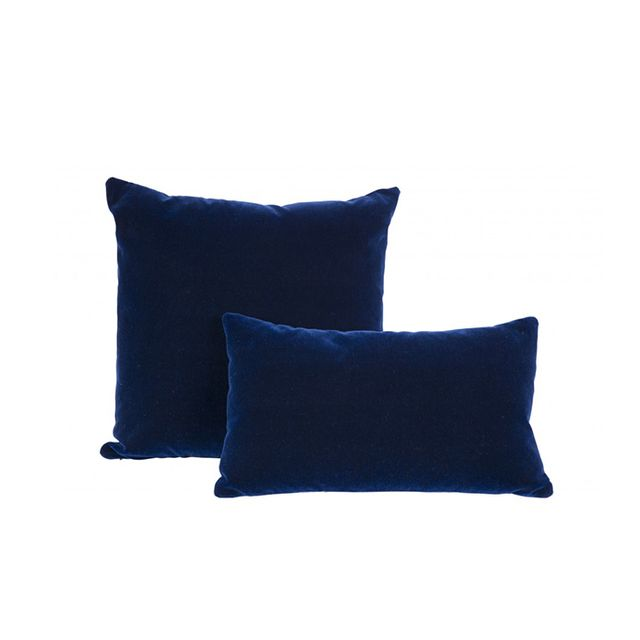 Jayson Home Navy Mohair Pillows
