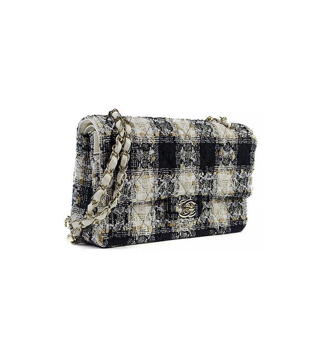Chanel Fantasy Tweed Medium Flap