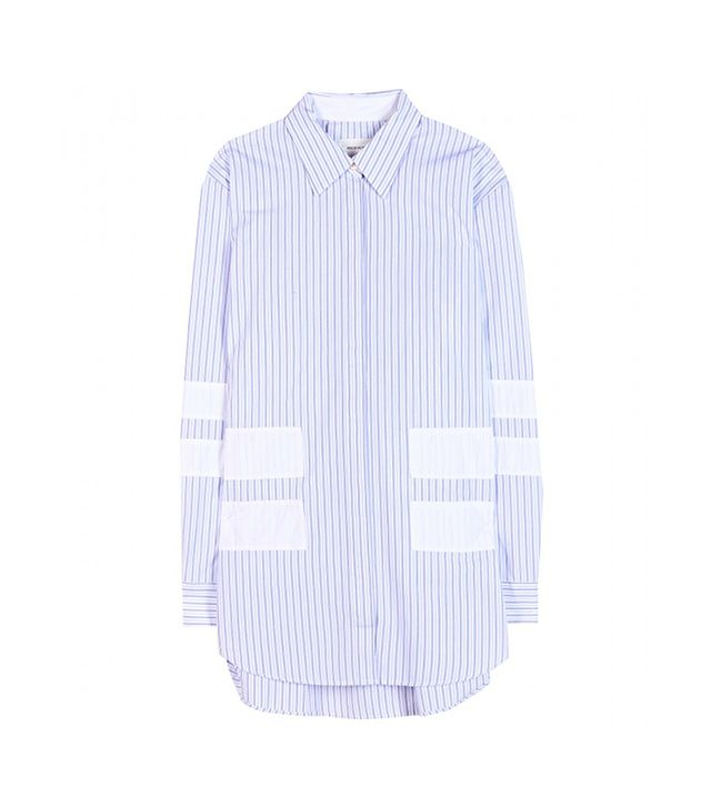 Wood Wood Juliette Striped Cotton Shirt