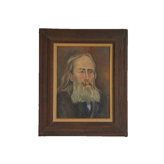 Etsy Portrait of Old Man by Helen B. Stover 1928