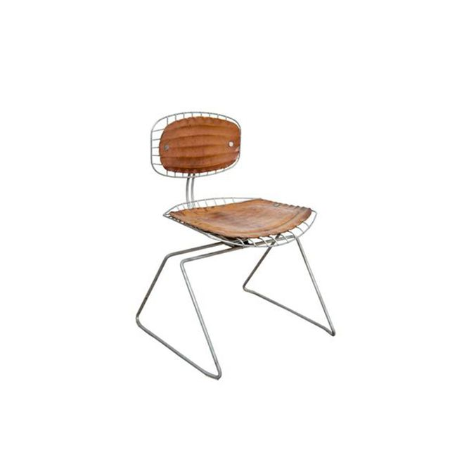 Michel Cadestin Mid Century Pompidou Chairs (set of four)