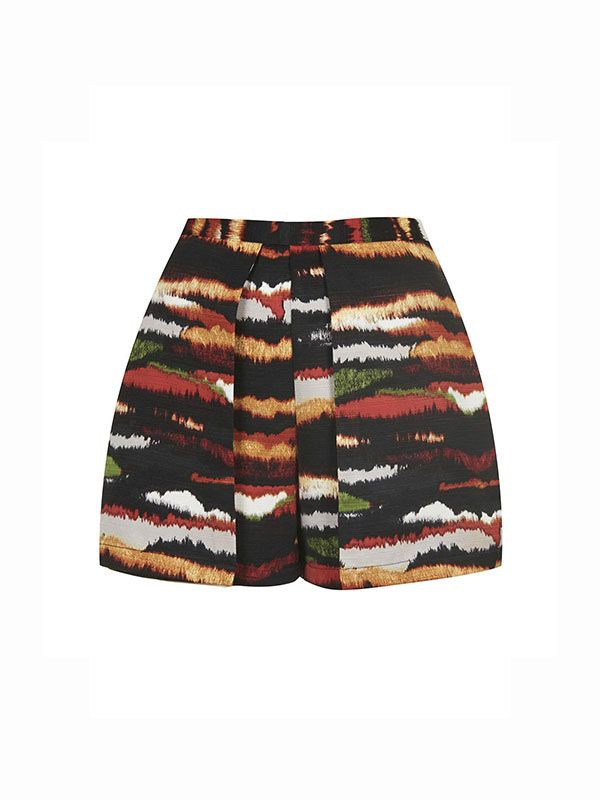 Topshop Tiger Print Skirt