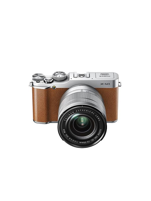 Fujifilm X-M1 Compact System Camera With 16-50mm Lens