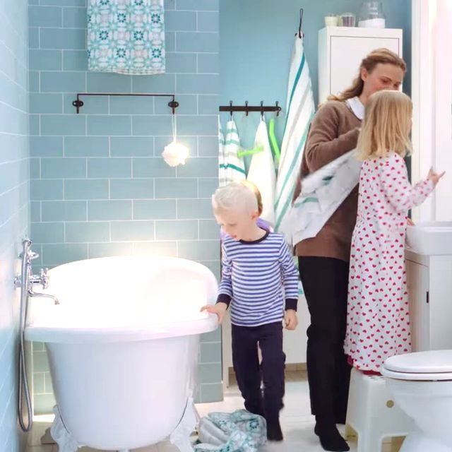 Genius Ideas For Sharing Your Bathroom With Your Kids