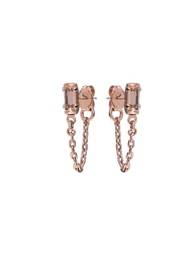 Bing Bang Baguette Earrings