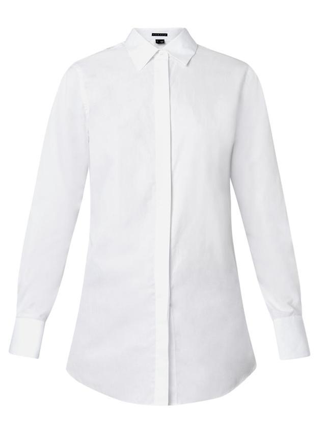 Theory Nareen Cotton Shirt