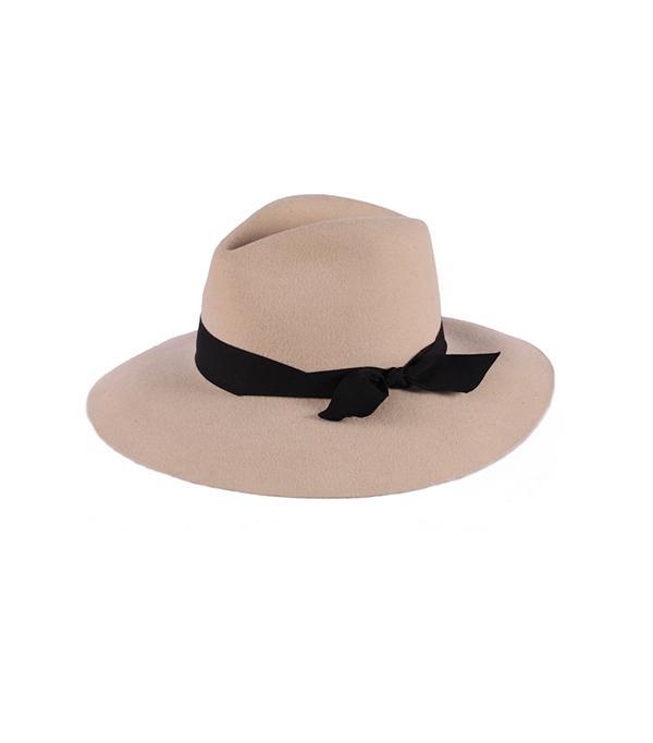 Sensi Studio Classic Gros Grain Felted Hat