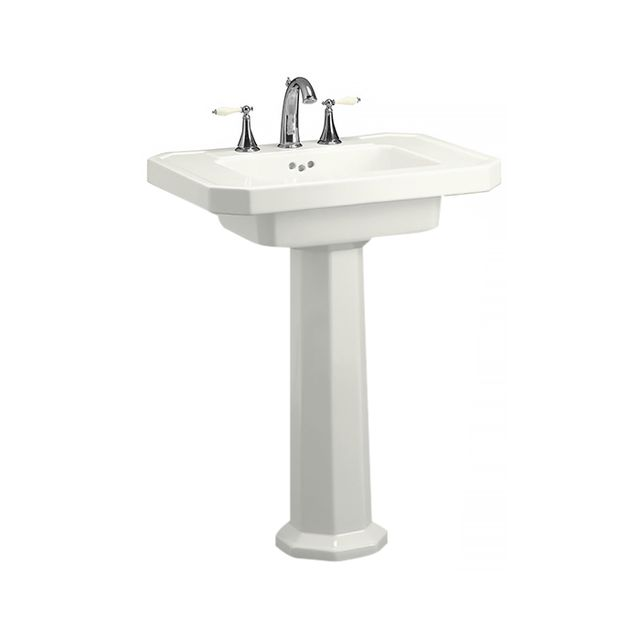 Kohler Kathryn White Fire Clay Complete Pedestal Sink