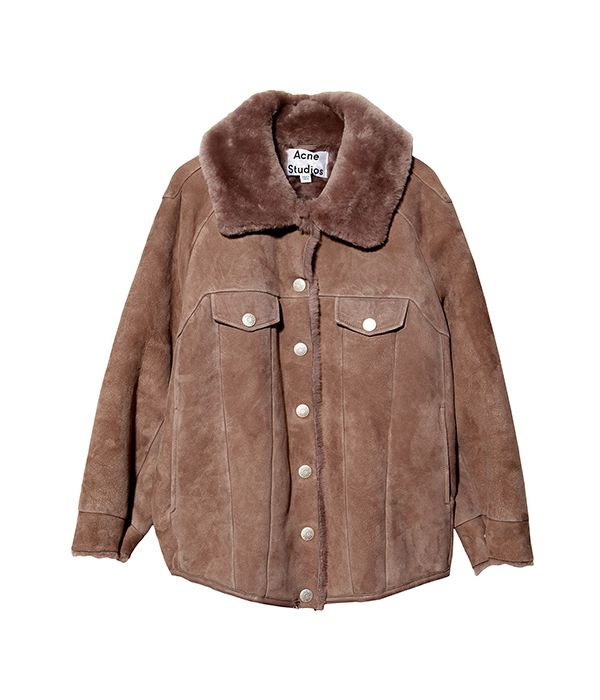 Acne Studios Meta Shearling Coat