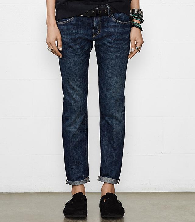 Ralph Lauren Denim & Supply Skinny Wright Boyfriend Jeans