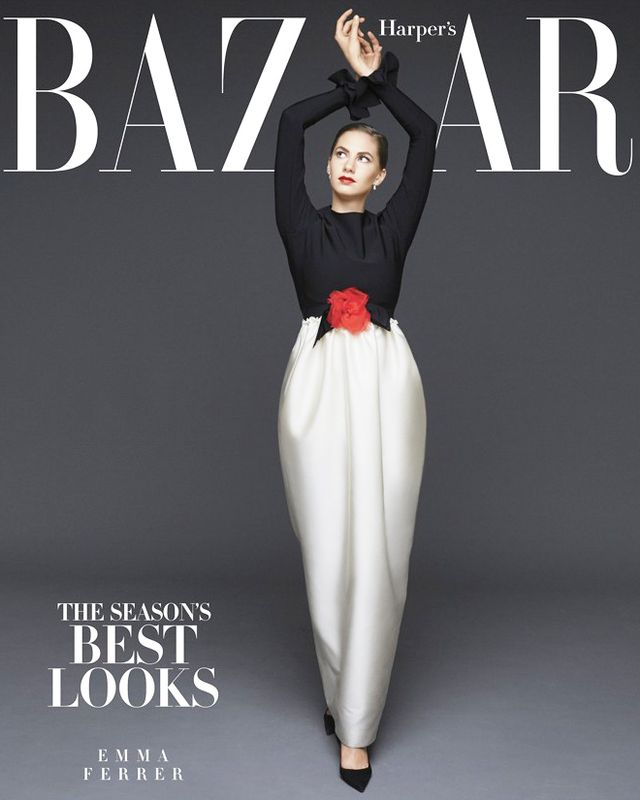 Audrey Hepburn's Granddaughter Is On Harper's Bazaar's September Issue