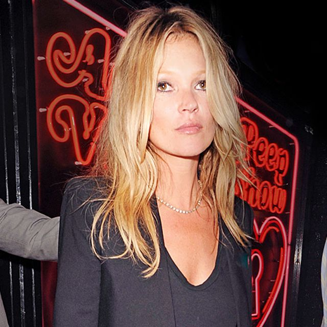 The Many Black Jackets of Kate Moss