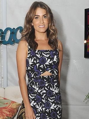 Nikki Reed's Cutout Dress Is A Must For A Summer Weekend
