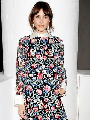 Alexa Chung Helps You Pick The Right Nail Polish For Your Outfit