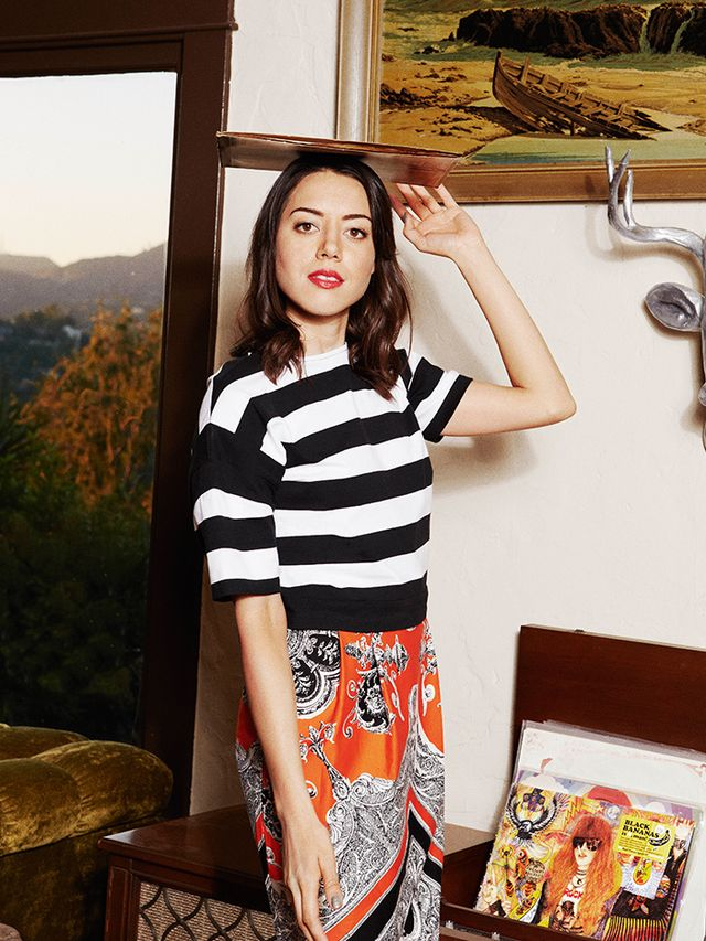 Exclusive: 10 Surprising Questions With Funny Girl Aubrey Plaza