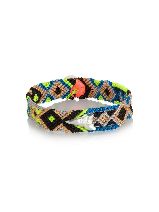 Dezso by Sara Beltran Shark Tooth Friendship Bracelet