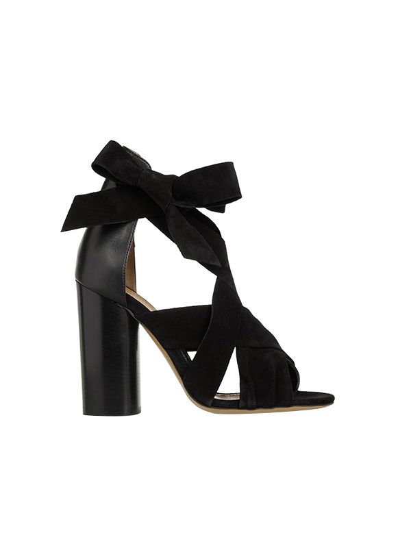 Isabel Marant Amelia Suede and Leather Sandals