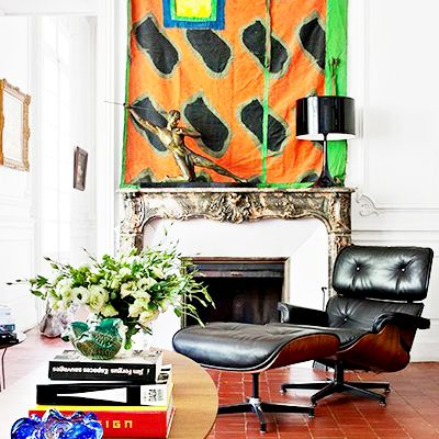 Shop the Room: A European Salon With Midcentury Flair