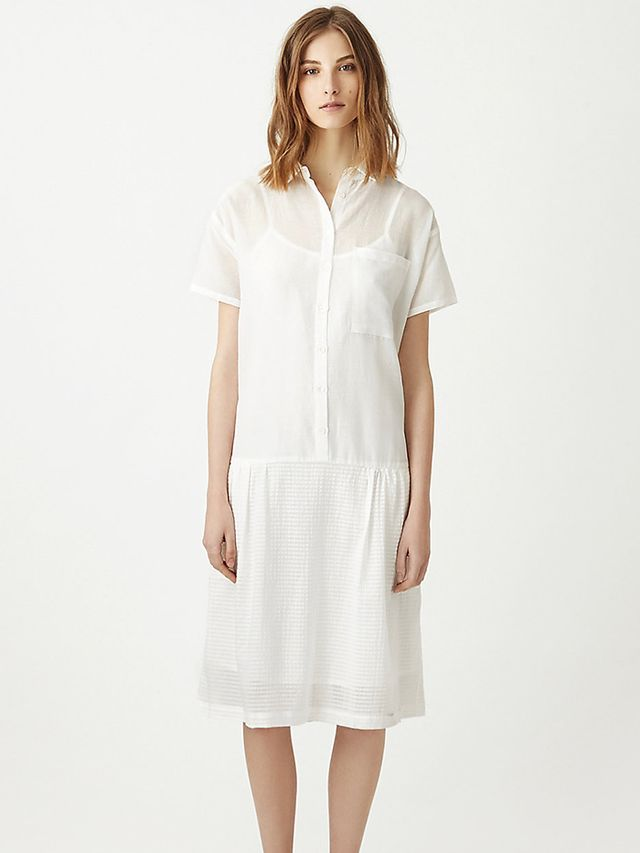 Steven Alan Drop Waist Shirt Dress