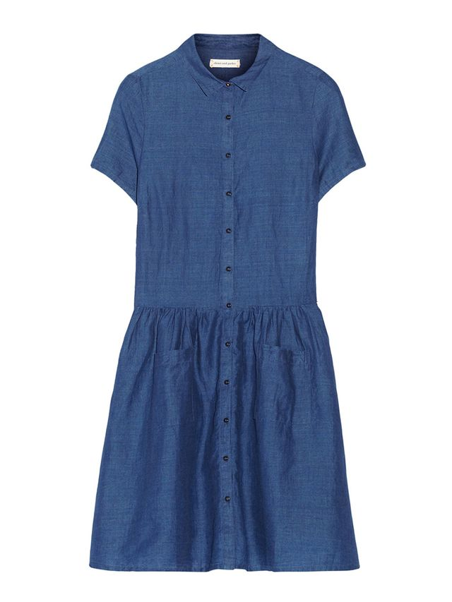 Chinti and Parker Schoolgirl Chambray Dress