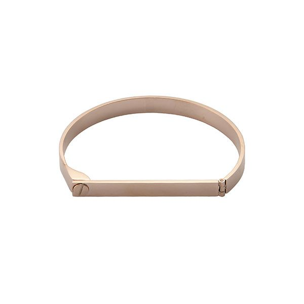 Wanderlust & Co.,Christian Louboutin Screw & Bar Rose Gold Bangle