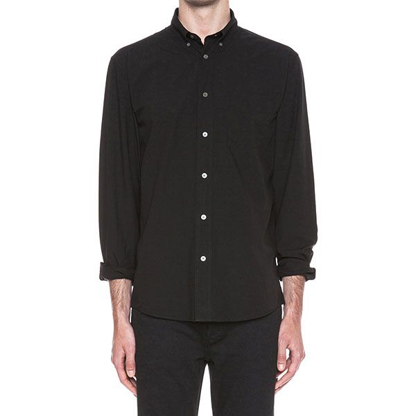 Acne Studios,Christian Louboutin Isherwood Poplin Cotton Button-Down
