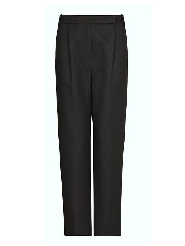 Mango Premium Linen-Blend Trousers