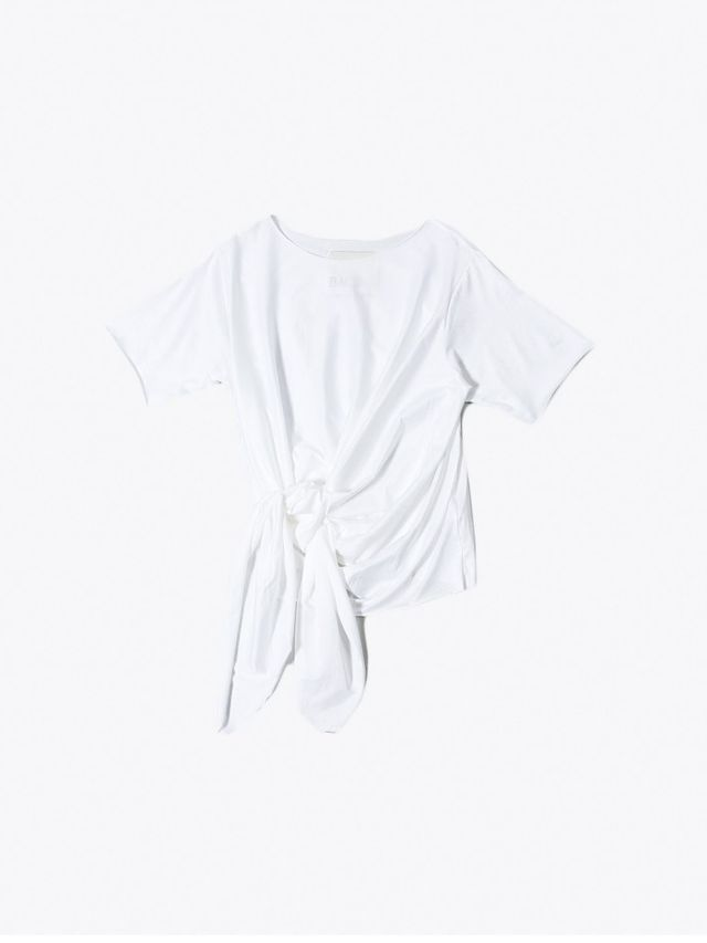 Anne-Sofie Back Knot T-Shirt