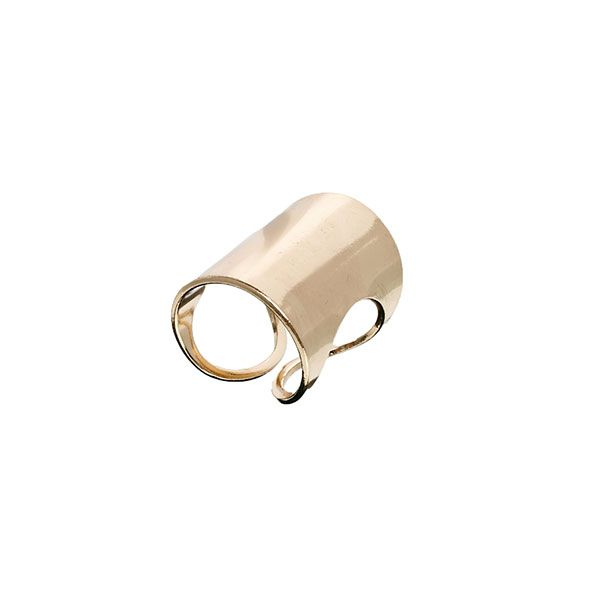 ASOS Pieces Kis Tube Ring
