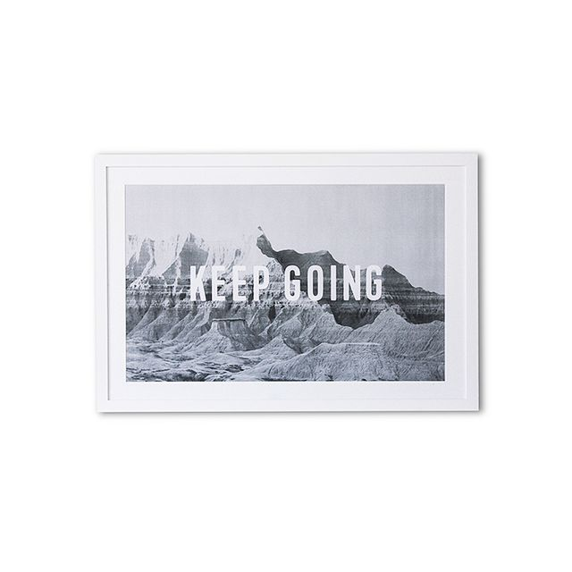 Julia Kostreva Keep Going Wall Print
