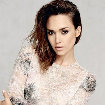 Jessica Alba's Marie Claire UK Covershoot