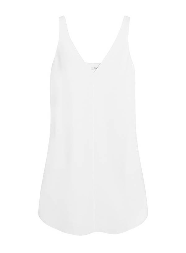 T by Alexander Wang Crepe Mini Dress