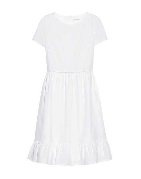 Chinti and Parker Cotton-Poplin Dress