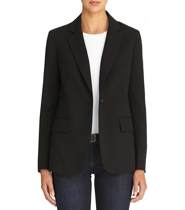 Jones New York One-Button Boyfriend Blazer ($