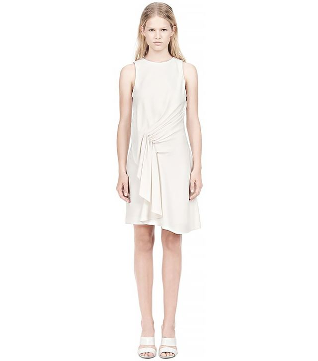 Alexander Wang Cascade Front Sleeveless Dress