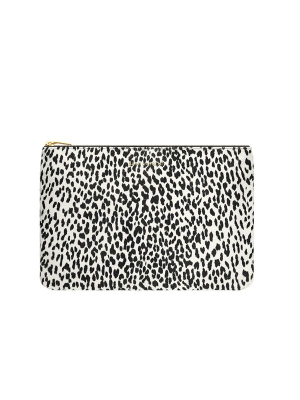Saint Laurent Zipped Clutch