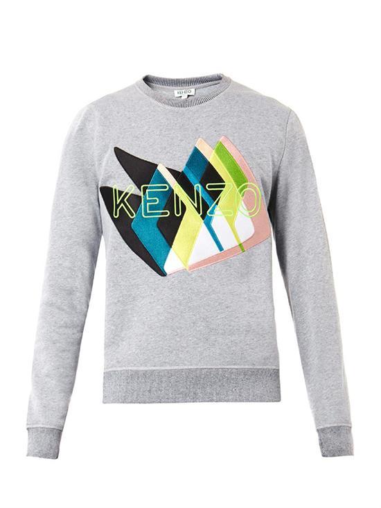 KENZO Twin Peaks-Embroidered Sweatshirt