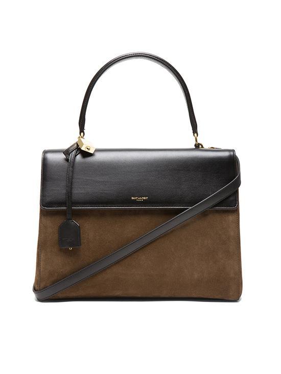 Saint Laurent Suede Moujik Medium Bag