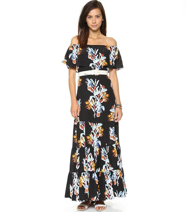 Rebecca Minkoff Dev Pineapple Dress