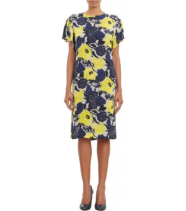 Dries Van Noten Floral-Print Tunic Dress