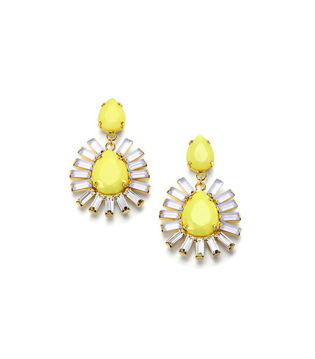 ABS by Allen Schwartz Jewelry Baguette & Pear-Shaped Earrings