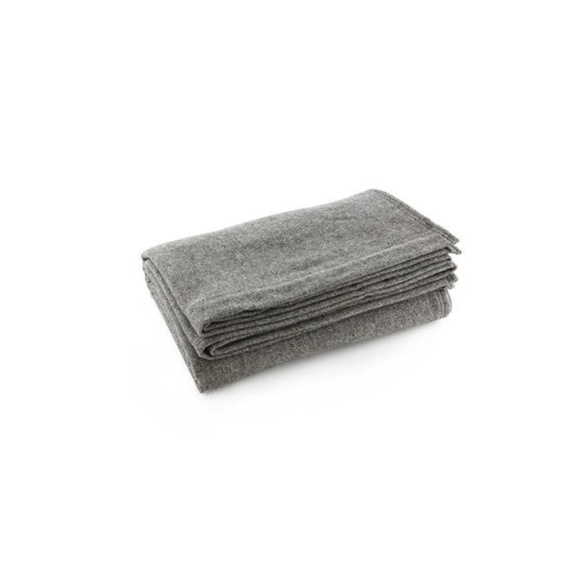 Faribault Woolen Mill Herringbone Wool Blanket