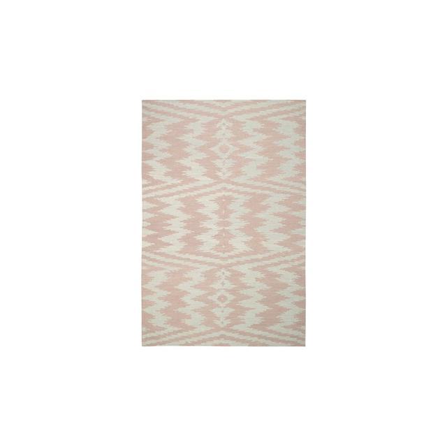Layla Grayce Junction Flatweave Rug in Pink